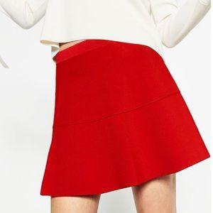 Zara red mini size small